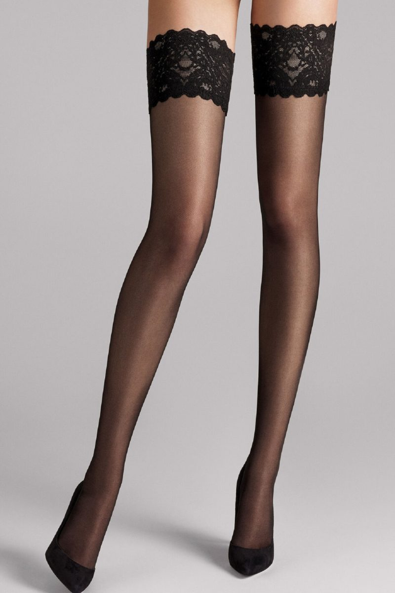 wolford, satin touch 20, 21223, 7005, black