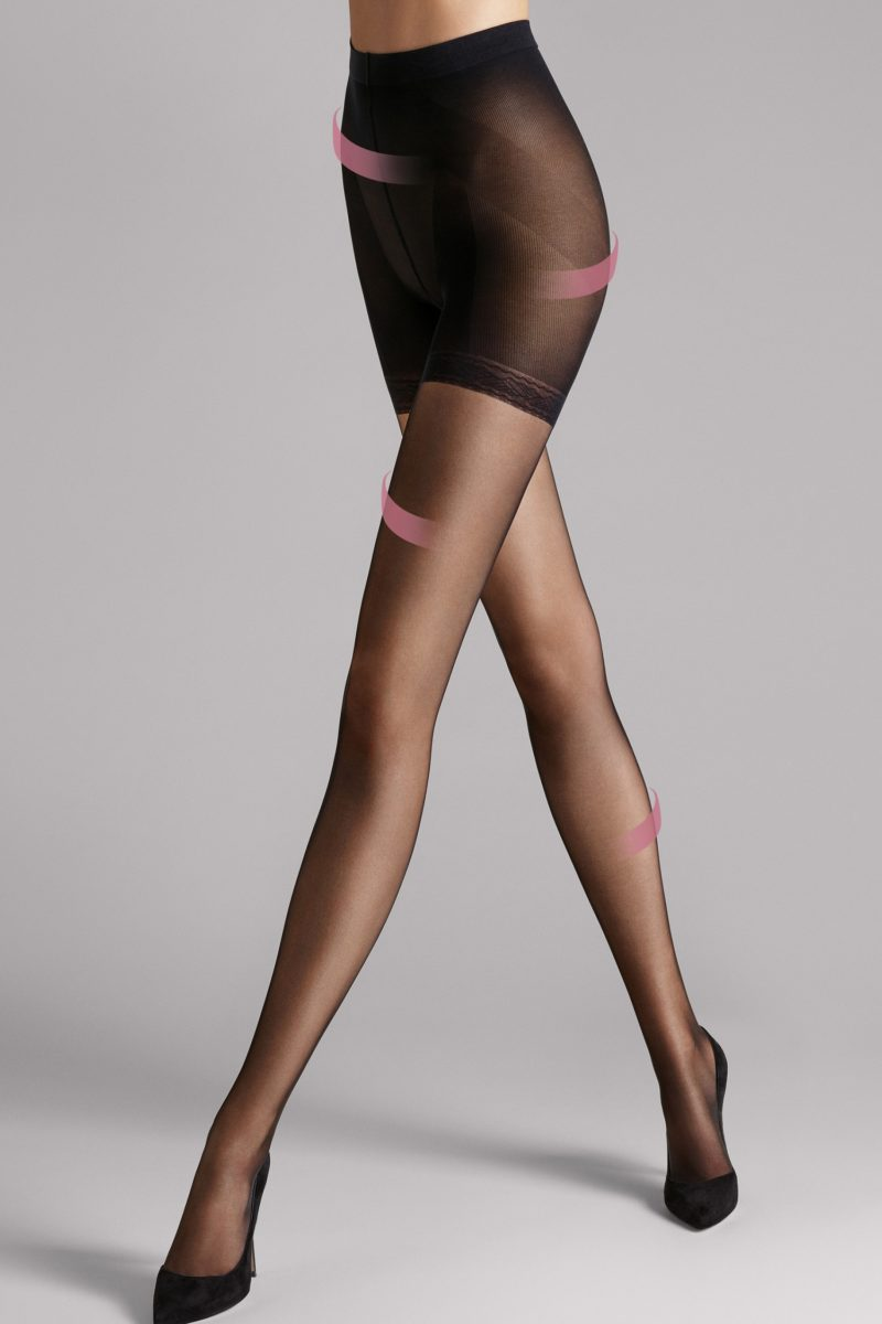 wolford, individual 10 complete support, 18935, 7005, black
