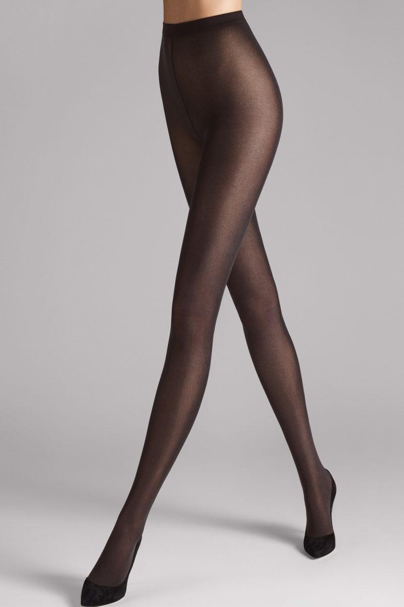 Wolford, rajstopy, Velvet de luxe 50, nearly black, 7212