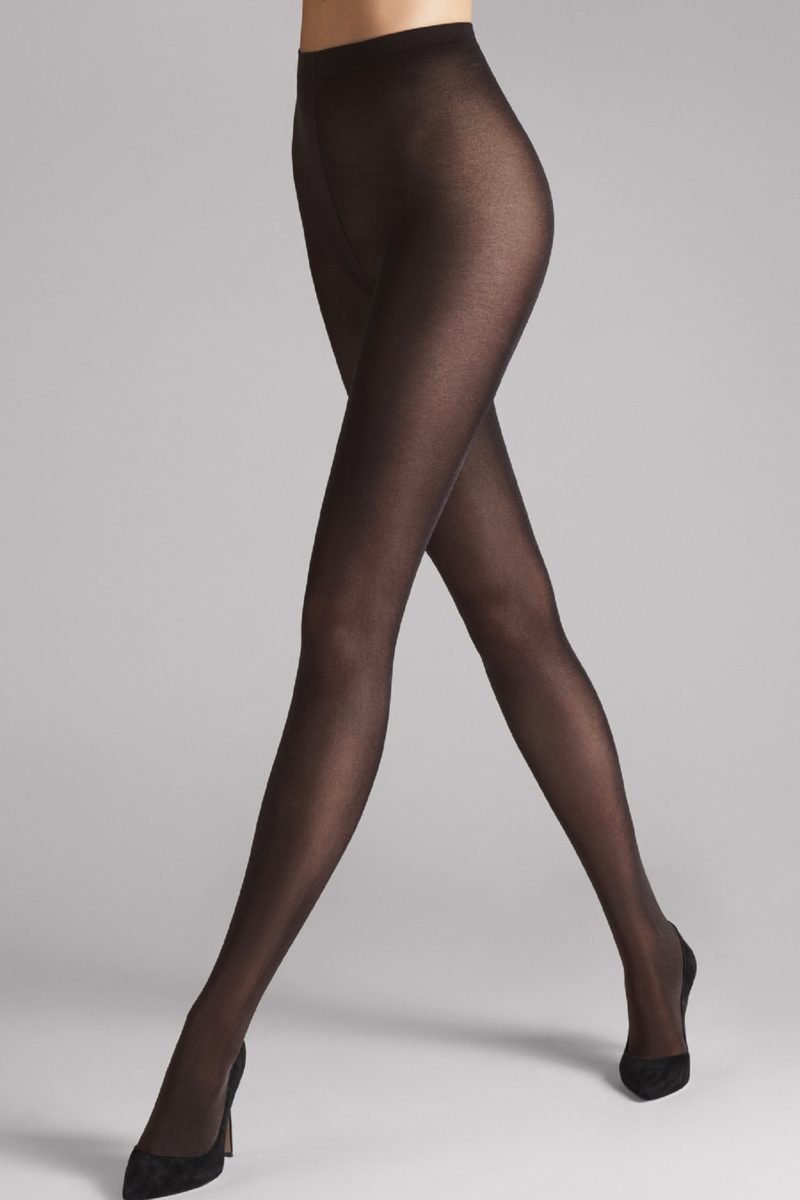 Wolford, Rajstopy Satin Opaque 50, 18379, 7212 nearly black
