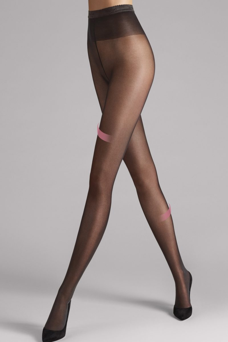 Wolford, rajstopy, Synergy 40 leg support, 18393, 7212 nearly black